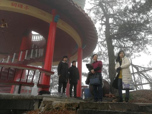 文旅投公司组织开展铜锣寨景区导