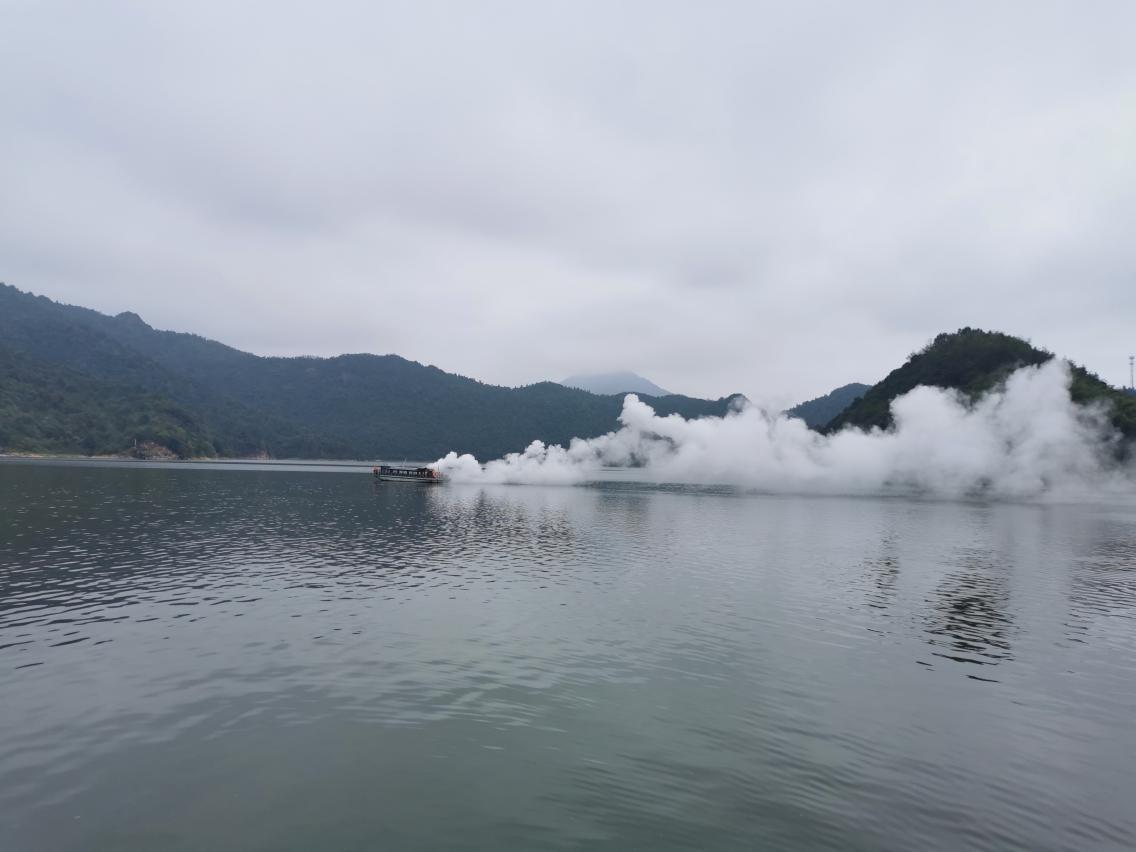 文旅投公司组织开展水上应急救援演练